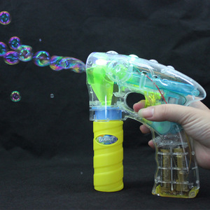 Hot sale Soap bubble gun with light and music