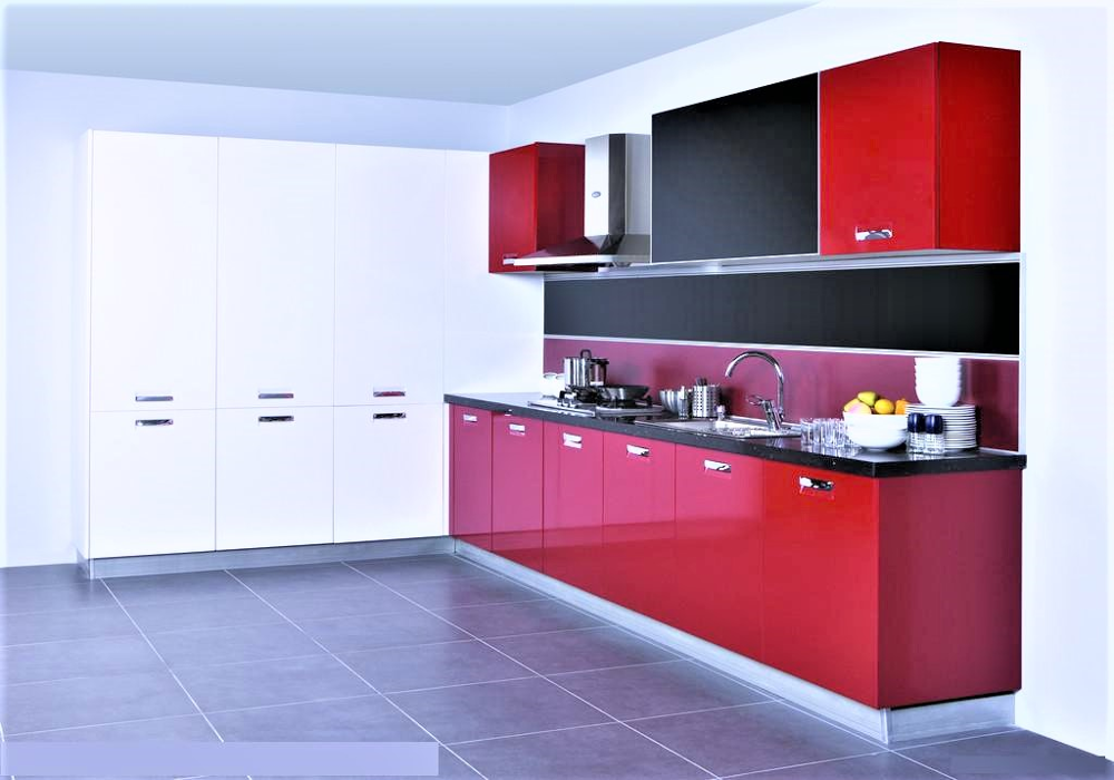 China New Model Kitchen Cabinets