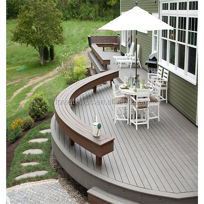 Durable Ecological pergola flooring/Rot proof,Rodent proof deckings