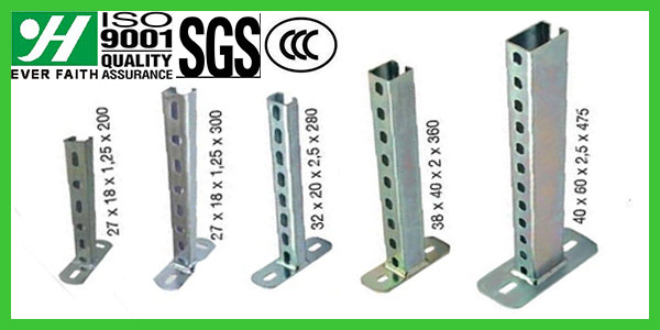 Steel Galvanized Supporting Suspension Channel Brackets, View Suspension  Channel Brackets, Suspension Channel Brackets Product Details from