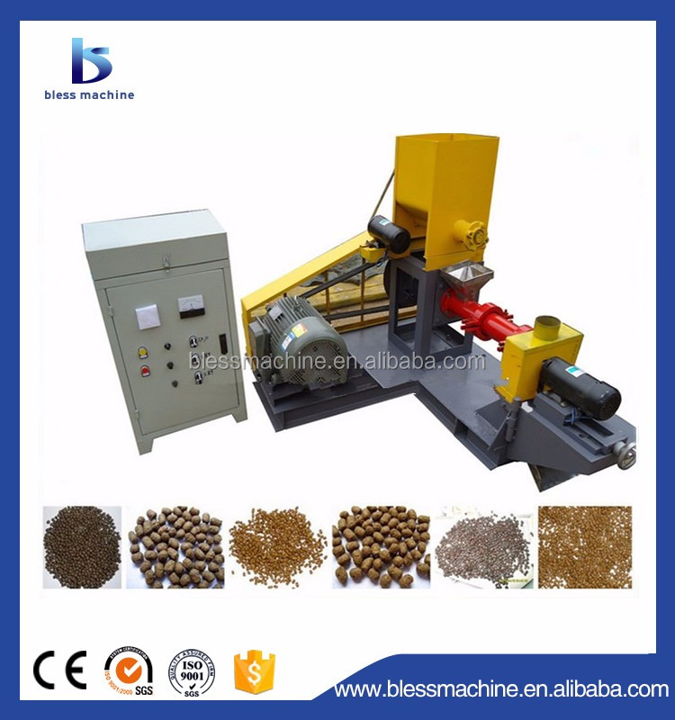 2018 Multifunctional automatic floating fish food feed pellet extruder machine with Alibaba trade assurance