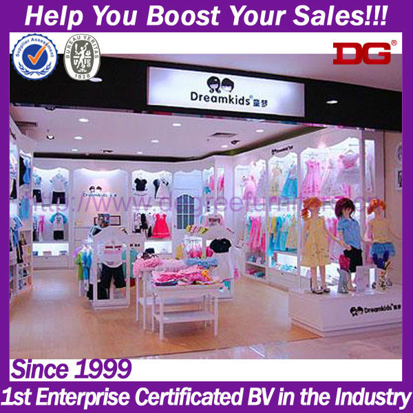 Kids Baby Clothes Interior Design Decoration Clothes Stores - Buy ...