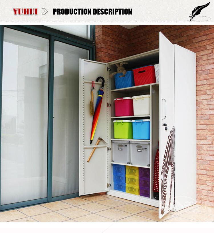 occasion m tal armoire de rangement pour balcon et garage. Black Bedroom Furniture Sets. Home Design Ideas
