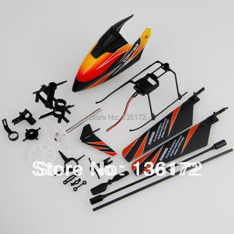 Wl toys V911 v911-1 2.4G 4 Channels  Mini R/C helicopter  spare part kits free shipping