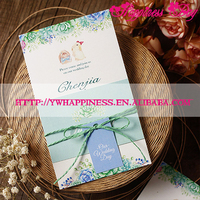 Customized Elegance Europe Garden Style Wedding Invitation Cards Party Favors