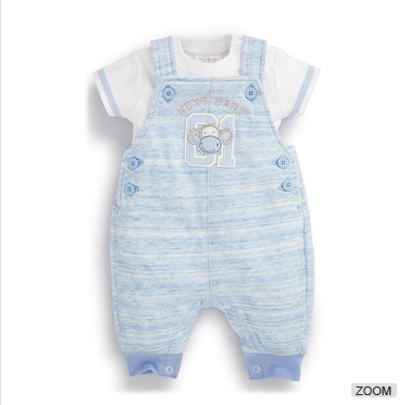 Alibaba Online Best Selling Baby Wearing Jean Denim Jumpsuits Clothing
