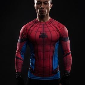 9b146c54 3D-Printed-T-shirts-Spider-Man -Captain-America-Civil-War-Tee-Raglan-Long-Sleeve-Cosplay-Costume.jpg_640x640.jpg