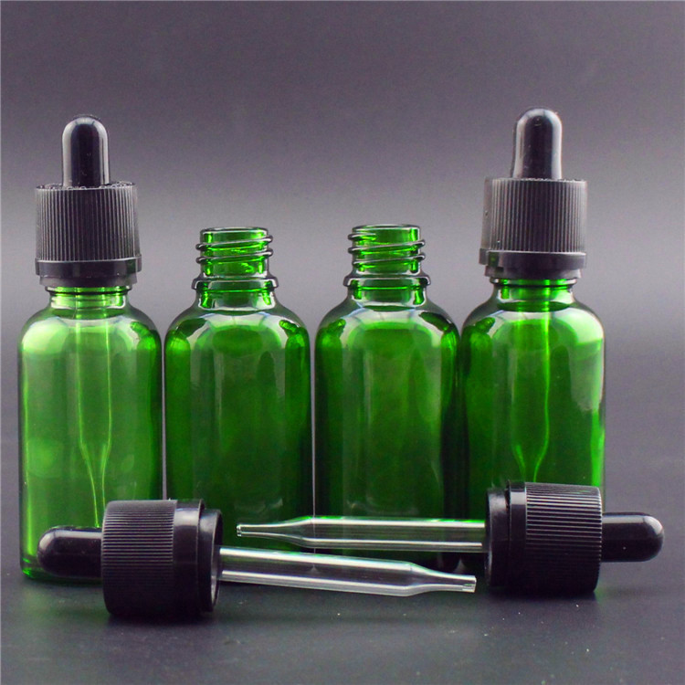 10ml 15ml 20ml 30ml 50ml 100ml 120ml blue green amber essential oil bottle  dropper bottle