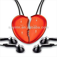 Necklace mini music player heart Shape 2GB/4GB/8GB MP3 player wholesale