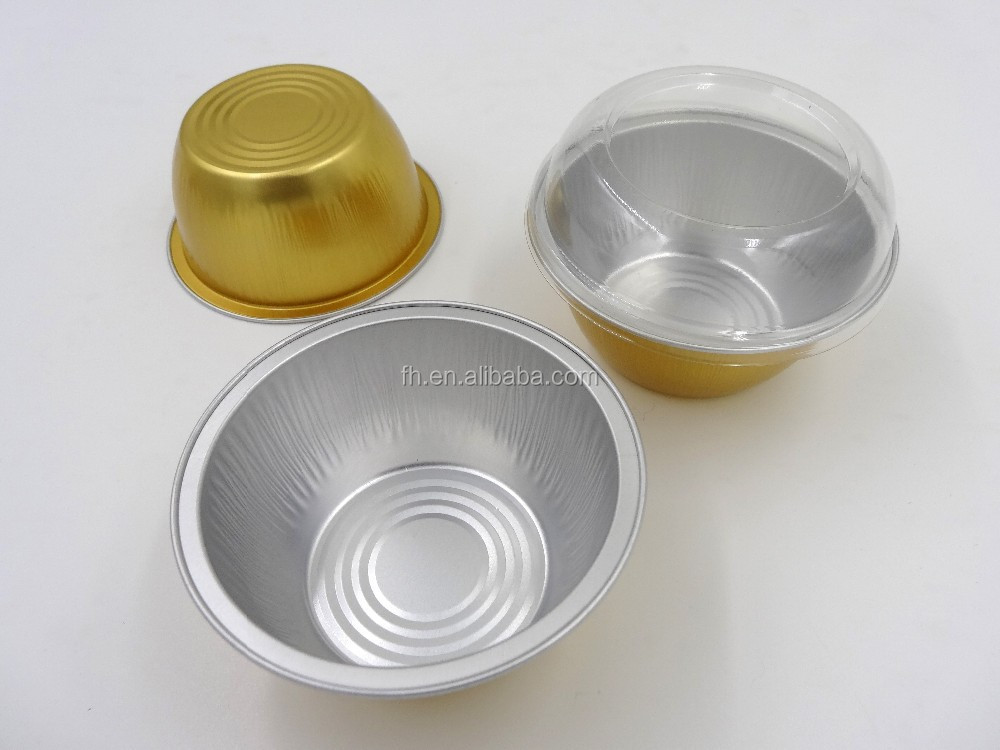 Wholesale 130ml Aluminum Foil Baking Cup/container Yy085