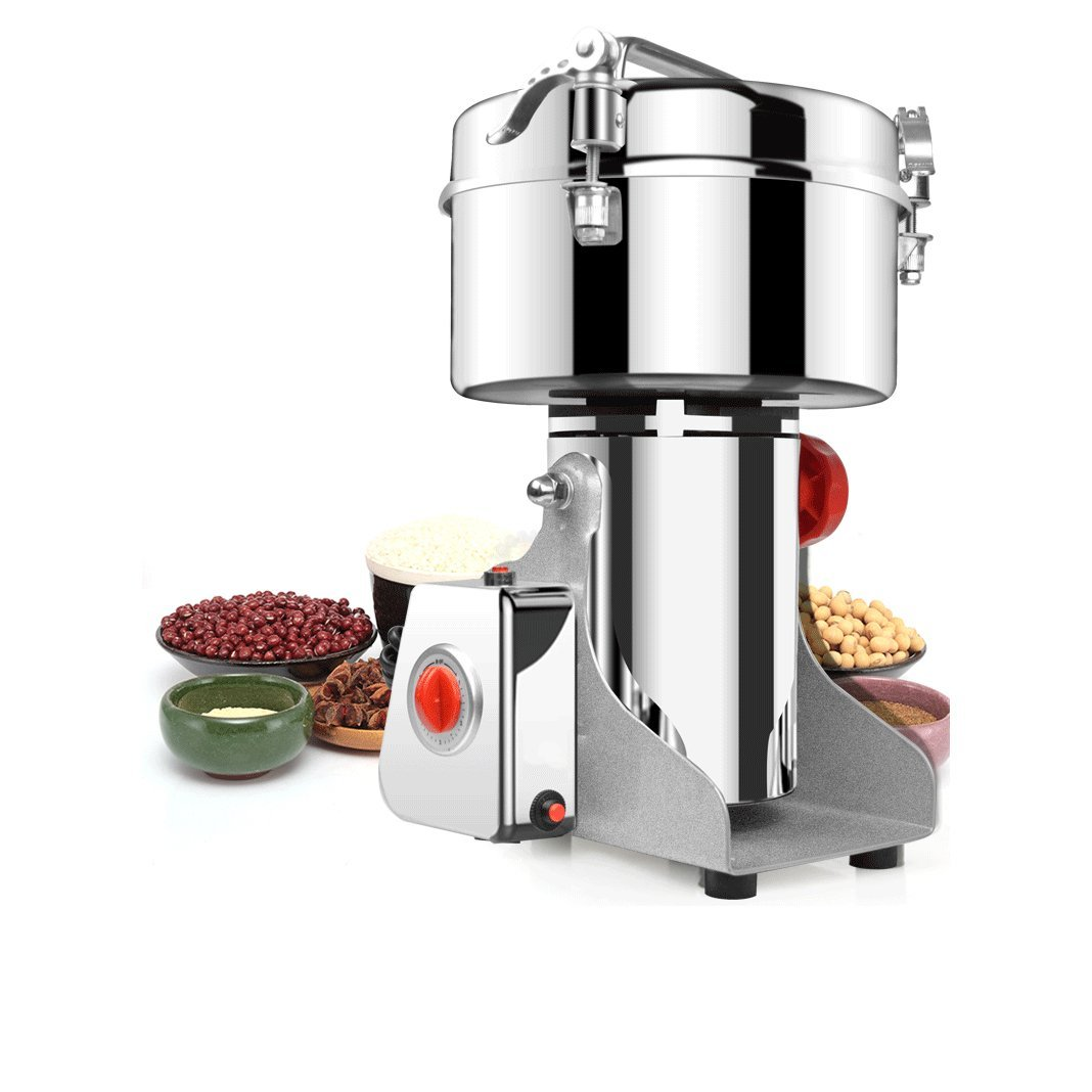 BMGIANT 2500g Commercial electric stainless steel grain grinder mill Spice Herb Cereal Mill Grinder Flour Mill pulverizer