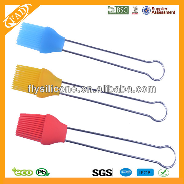 Won't Frizz Heat Resistant Food Grade Oil Brush Silicone Bbq Grill Brush