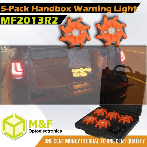 MF2000R2 Traffic Magnetic Hazard Lights Road Safety Warning Power Flare