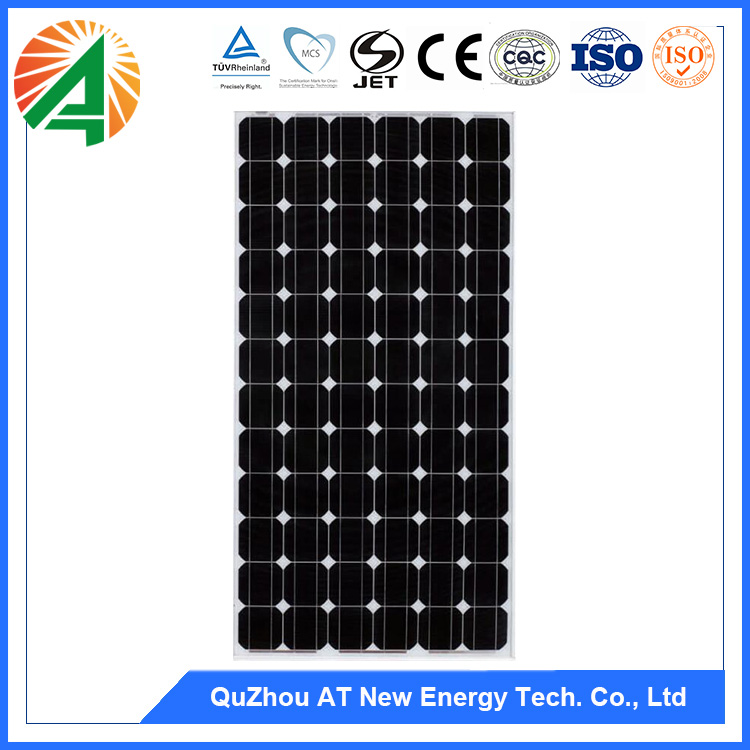 Cleaning System Frame Materials Solar Panel Mounting Bracket