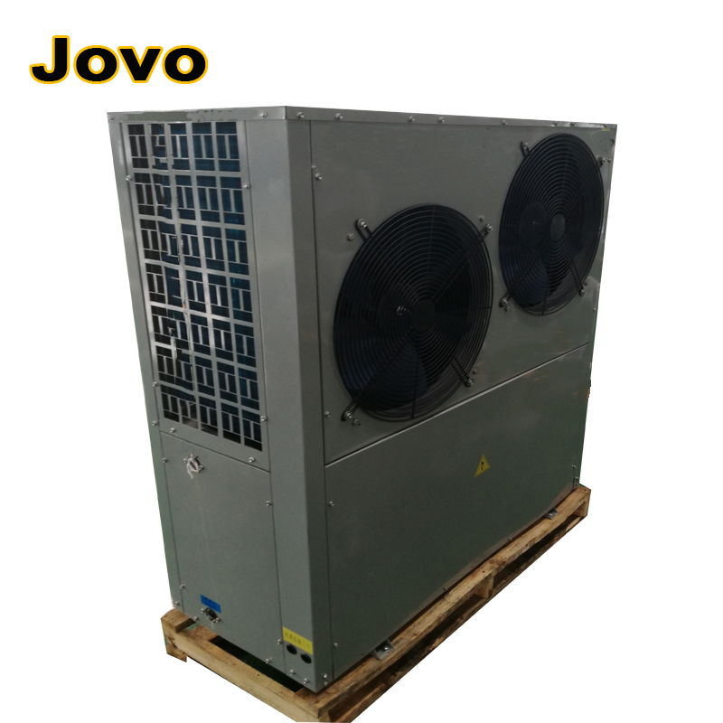 rotary heat exchanger air source heat pump for heating and hot water