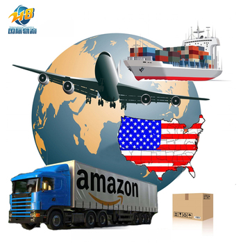 FBA Shipment Cheap Amazon FBA Forwarder logistics freight sea air drop shipping service rates from China to USA