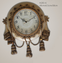 Hot sell digital wall clock tassels model wall clock antique wall clock