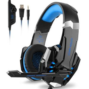 GlobalCrown Kotion Each G9000 Gaming Headset Headphone 3.5mm Stereo Jack with Mic LED Light