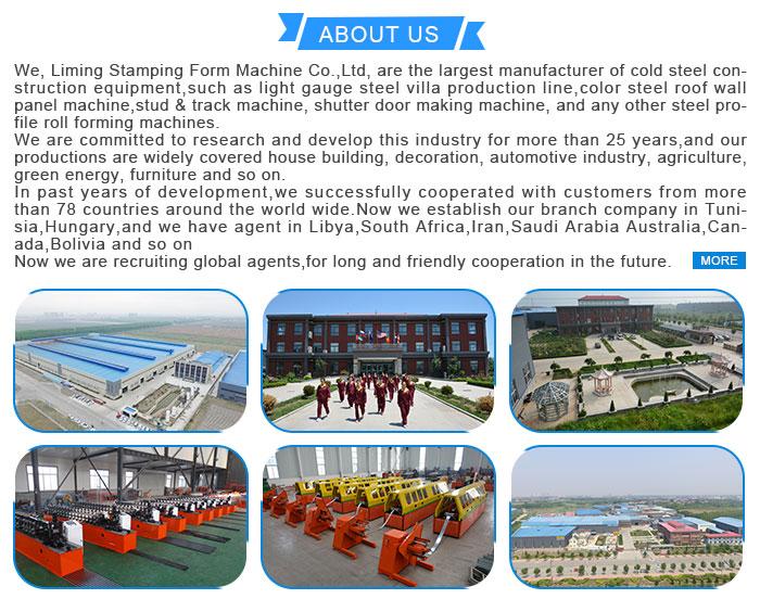 धातु स्टड और ट्रैक drywall धातु सी संवर्धन रोल बनाने की मशीन