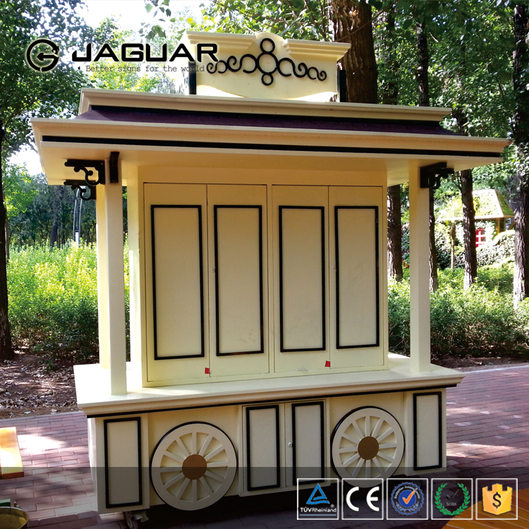 2016 new Movable coffee shop container mobile food booth kiosk / outdoor food kiosk