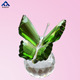 High quality butterfly shape crystal ornaments as gift souvenirs