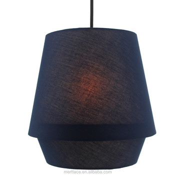 Modern Simple Pendant Lamp Lantern Design Fabric Pendant