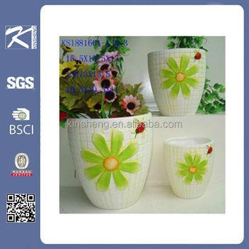 Handmade Indoor Ceramic Flower Pots Decoration Terracotta Flower