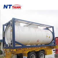 20ft Best price new condition iso chemical liquid tank container
