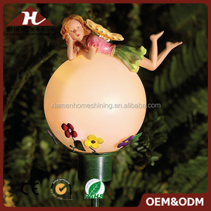 fairy garden miniatures led ball light