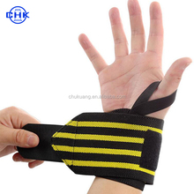 Wholesale high elastic thumb support wrist bracer band wraps for weight lifting sports