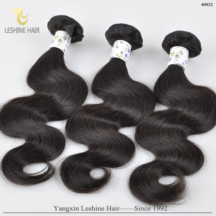 100% Real Mink Human Hair Can be Dyed No Tangle Body Wave 100% Remy Virgin Indian Hair