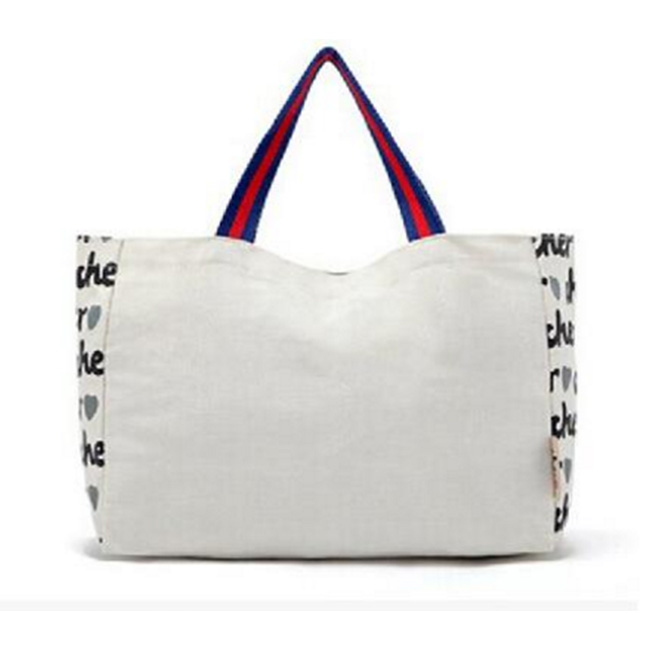 Personalized Tote Bag Handbag Cute Dog