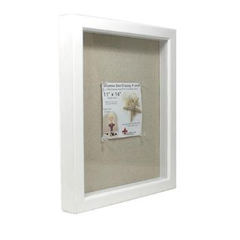 Lawrence Frames Shadow Box Frame With Linen Inner Display Board,8 By ...