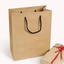 Custom printed grocery / shopping brown kraft paper bag