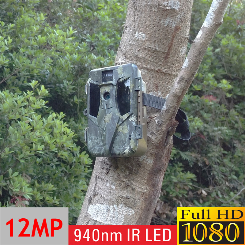 Camouflage Infrared Hidden Spy Surveillance Real-time Scouting Camera