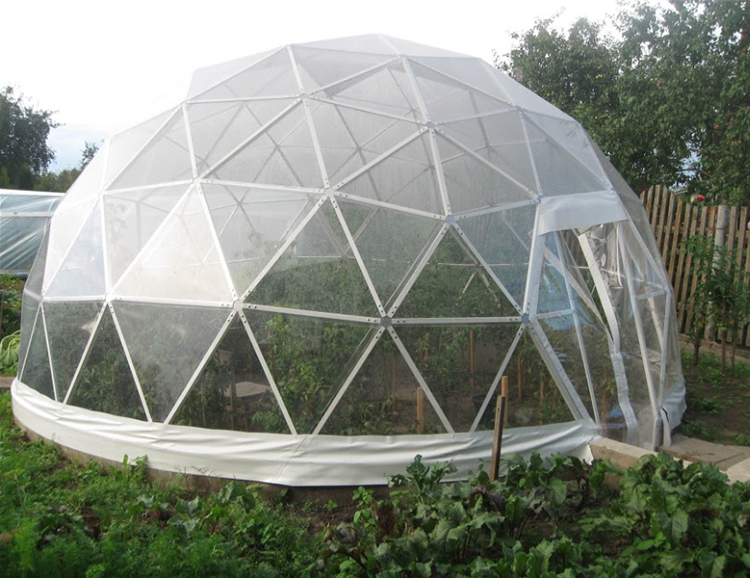 COSCO aluminum geodesic dome tent in different shape foradvertising