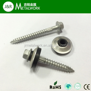 Stainless Steel SS304 SS316 Hex Head Type 17 Self Tapping Screw