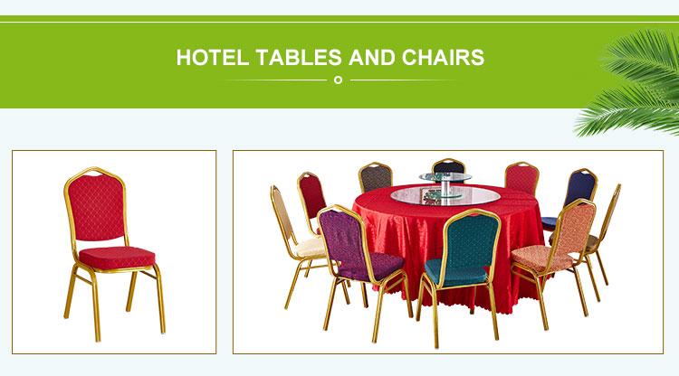 Lujo moderno de banquete de boda comedor Silla de Hotel
