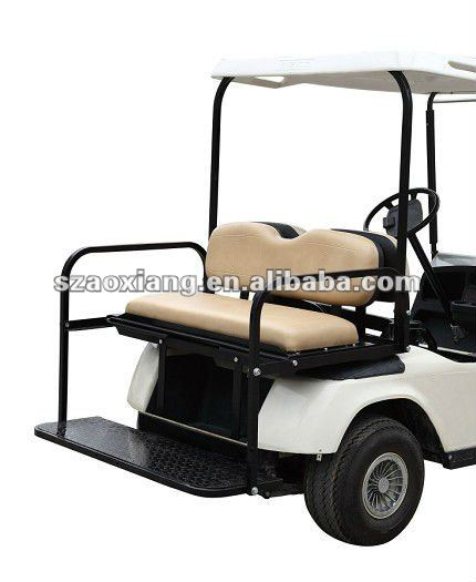 Top Brand Golf Cart Rear Seat Kits for EZGO TXT Series, Quality Custom Golf Cart Parts for EZ-GO, Club Car and Yamaha Golf Cart