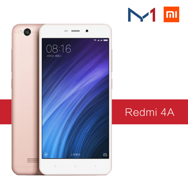"Global ROM Original Xiaomi Redmi 4A 4 A 2GB RAM 16GB ROM Mobile <strong>Phone</strong> 5.0"" 4G LTE Snapdragon 425 Quad Core 3120mAh Battery 13MP"