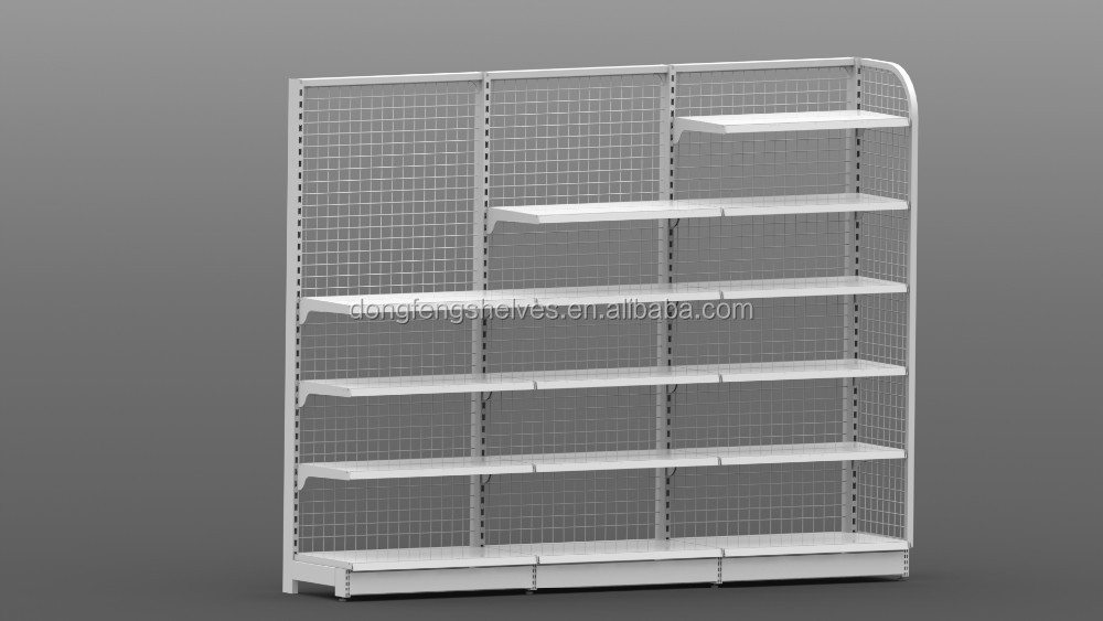 metal multifunction wire mesh display stand