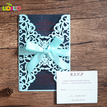 Chinese Invitation Card Greeting Card Of Wedding Birthday Festival