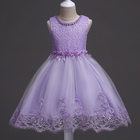 YY10358G Hot selling custom made new design flower girls normal party dress kids tulle prom dress