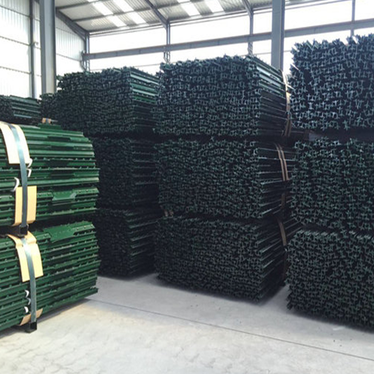 1.58kg/m   2.1m  Height  Prevent the damage of termite    Galvanized  Y fence post in Stock and Ready for Ship