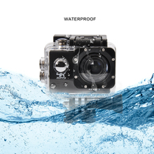 4K 24FPS Sports Camera Ultra Full HD 2K@30fps Video Camera 170 Degree Wide 2.0 inch Screen 1080P Action Camera