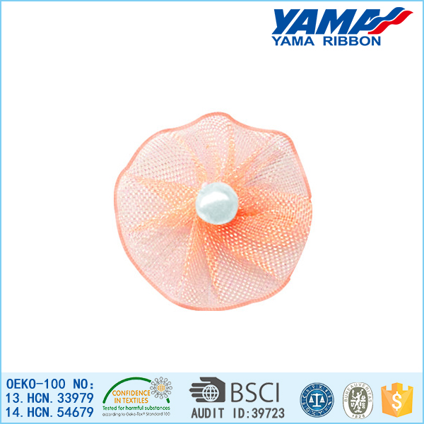 Top quality competitive price durable ribbon silk flower