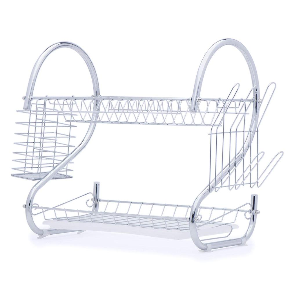 Lifine Dish Drainer Expandable Hanging Stainless Steel Kitchen Utensils  Rack Over Sink Display Stand Dish Drying Rack - Buy Dish Rack,Hanging