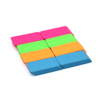 Promotional Custom color shape and logo pink blue white black eraser