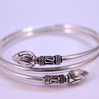 sterling from bangles silver bracelet beauty p novica made bangle hand bracelets rose india