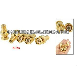 RF adapter BNC male to RCA female coaixal connector